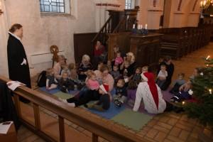Børnegudstjeneste i Voldum Kirke 061217
