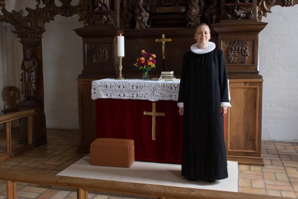 Sognepræst Lise Uhrskov, Voldum og Rud Kirker