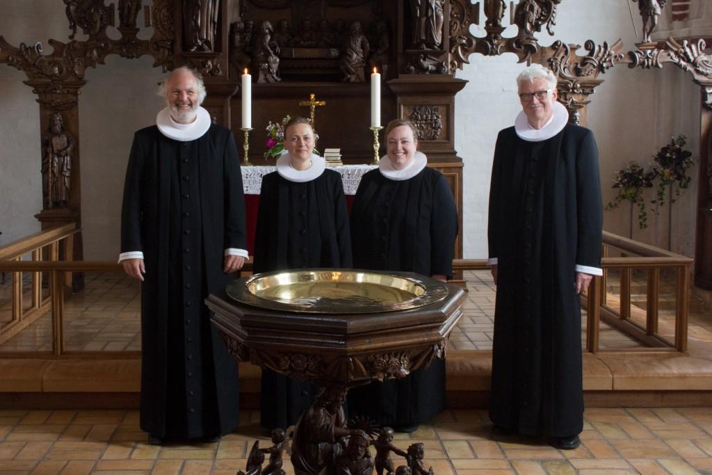 Indsættelsesgudstjeneste i Voldum Kirke, 25. juni 2017