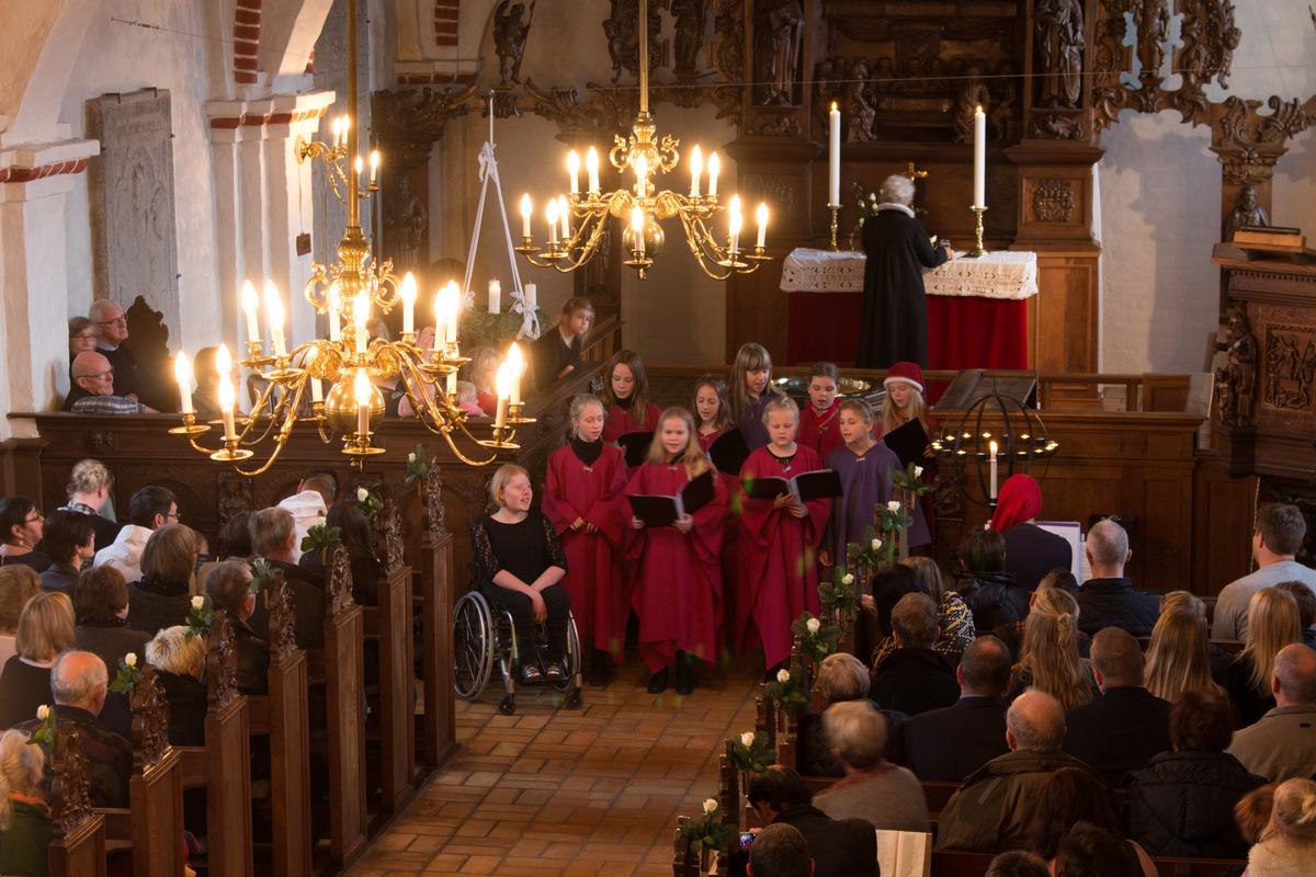 Festgudstjeneste første søndag i advent, november 2015