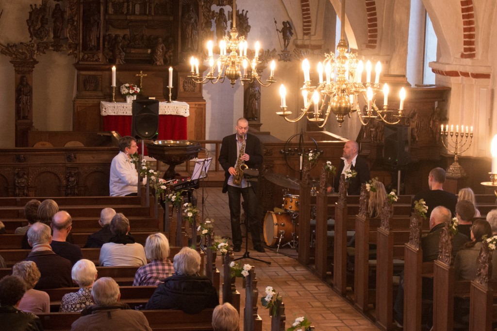 Jazz Og Salmer i Voldum kirke