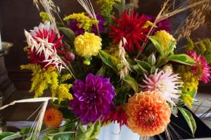 Høstgudstjeneste i Voldum Kirke sept17