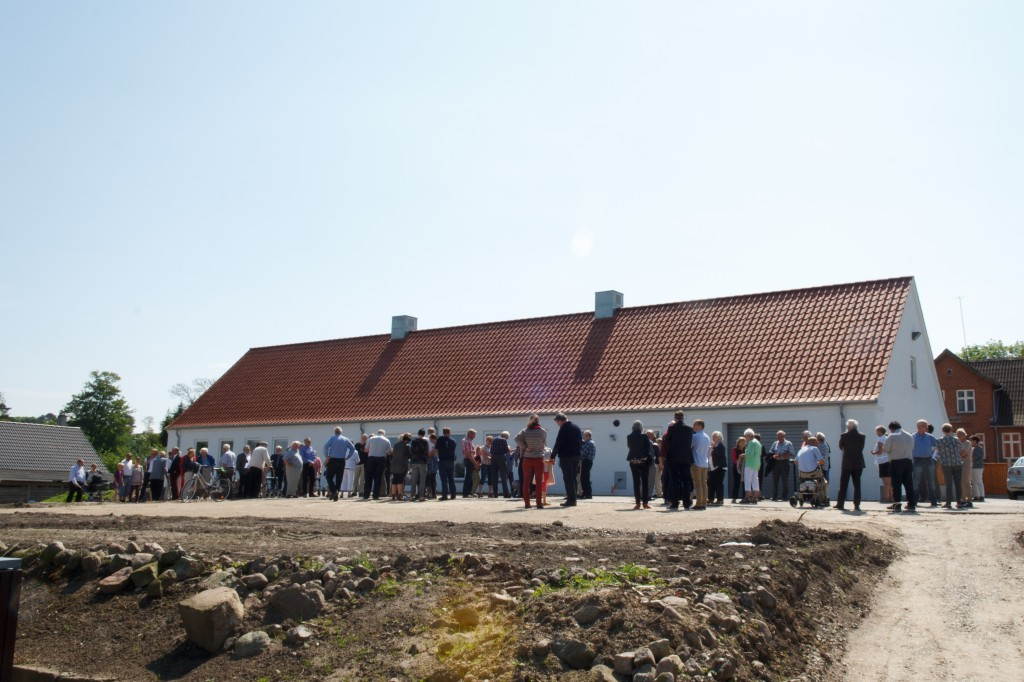Indvielse af Voldum Kirkehus maj 2014