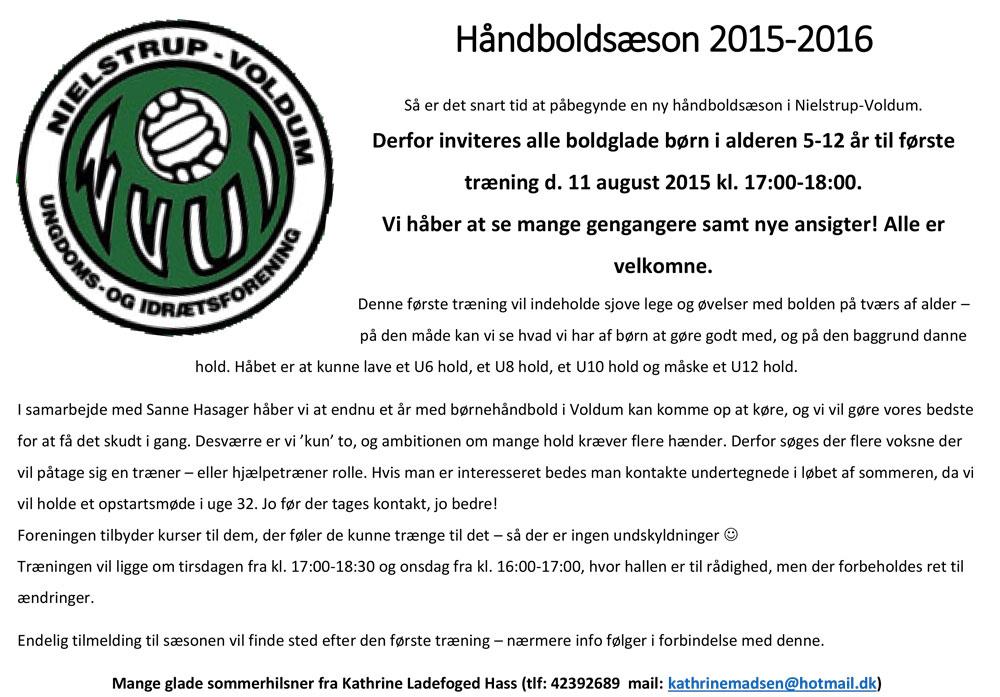 Haandboldsæson-2015