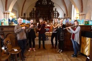 Favrskov Musikskole i Voldum Kirke, april 2014