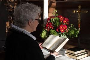Sognepræst Anne-Marie Damsgaard Ditlev takker af