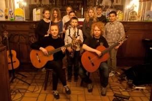 Koncert med Favrskov Musikskole, 24. marts 2015
