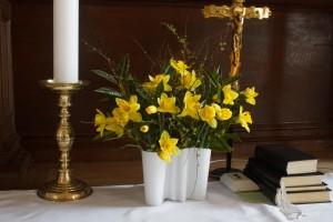 Påskedag i Voldum Kirke