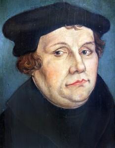 Voldum-Rud Kirker_Martin Luther