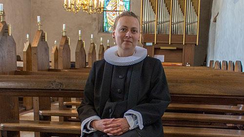 Sognepræst Lise Uhrskov er ny præst i Voldum-Rud pastorat