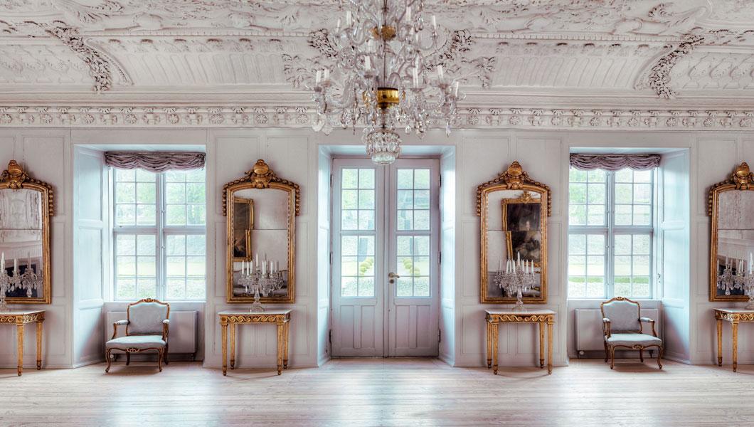 Havesalen på Clausholm Slot