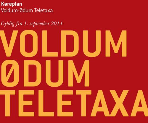 Bestil Voldum - Ødum Teletaxa og kom hurtigt og nemt til Aarhus centrum